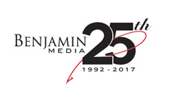 Benjamin Media Inc 25th anniversary